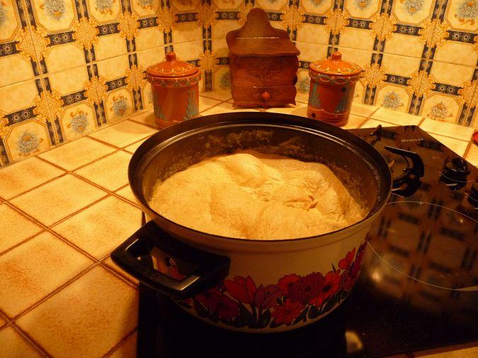 cuisson du pastet sur la plaque à induction Hautes-Pyrénées
