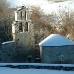 chapelle des templiers vallée d'Aure Pyrénées