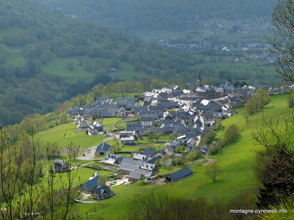 azet en vallée d'Aure dans les hautes-Pyrénées