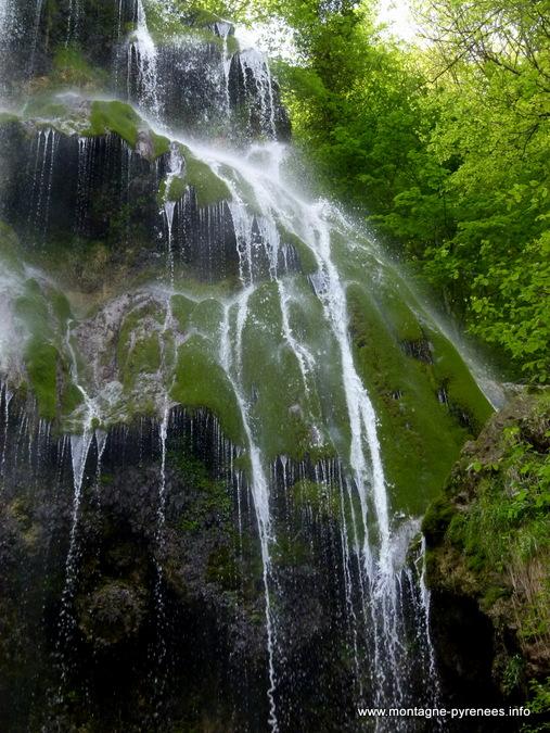 cascade du Pountil - Esparros dans les Baronnies - Hautes-Pyrénées