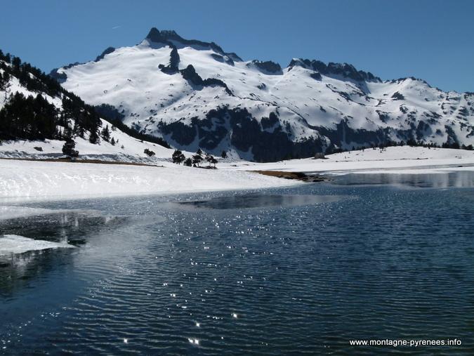 lac d'Aumar en réserve du Néouvielle