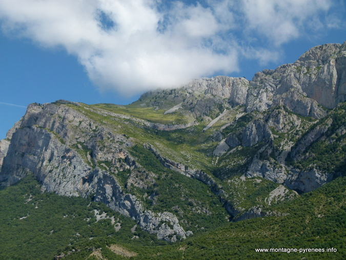 Peña Montañesa en Sobrarbe Aragon