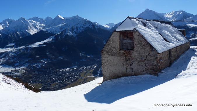 grange de grascoueou au dessus de saint-lary Pyrénées