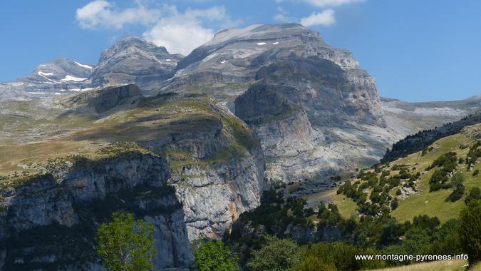 massif du monte Perdido - las dos sorores