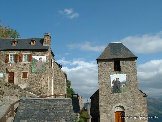 bergers à Soulan dans les Hautes-Pyrénées
