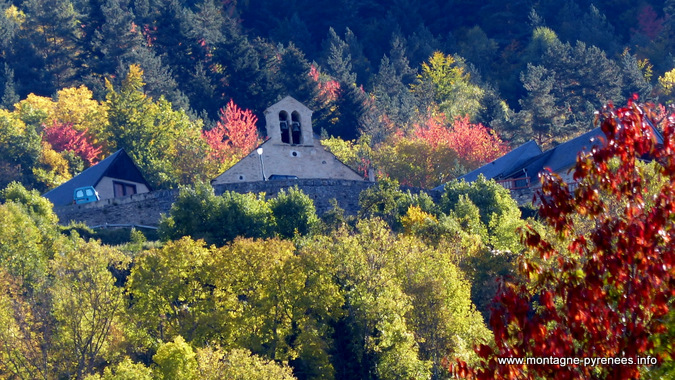 Grailhen dans les Hautes-Pyrénées en automne
