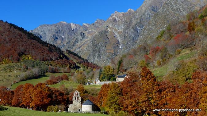 automne en vallée d'Aure Pyrénées