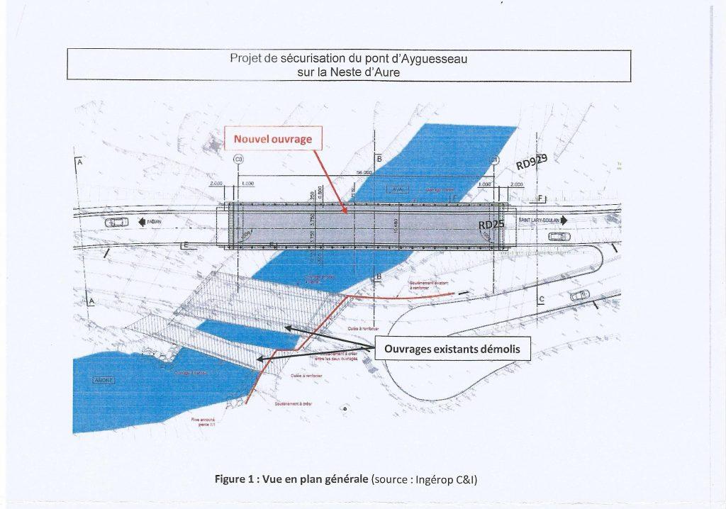 futur pont au sud de Saint-Lary