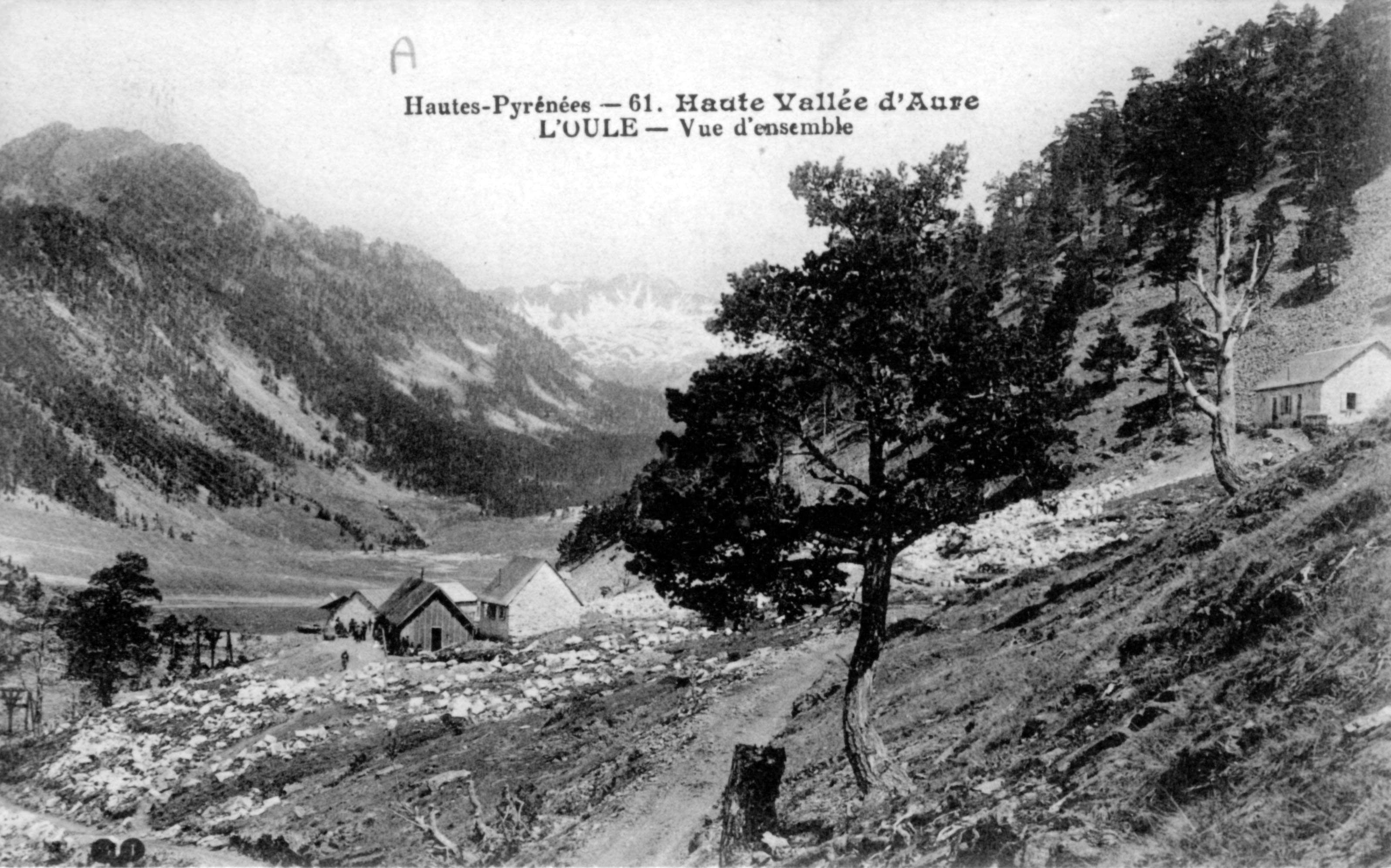 Avant le barrage de l'Oule